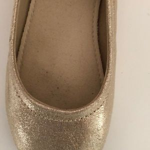 GAP Shoes - Baby Gap gold ballet flats